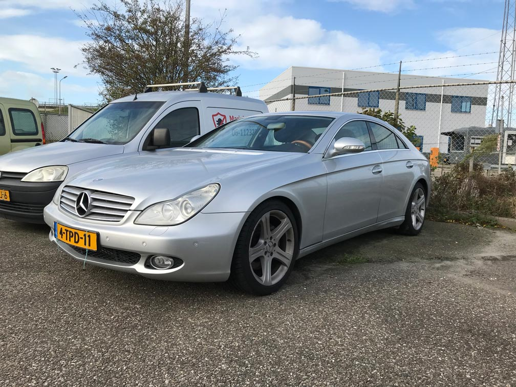 Mercedes CLS Vlissingen
