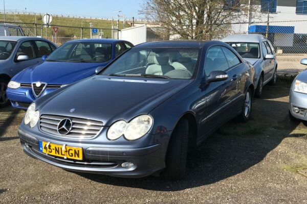 2de hands Mercedes CLK in Vlissingen, uit 2003